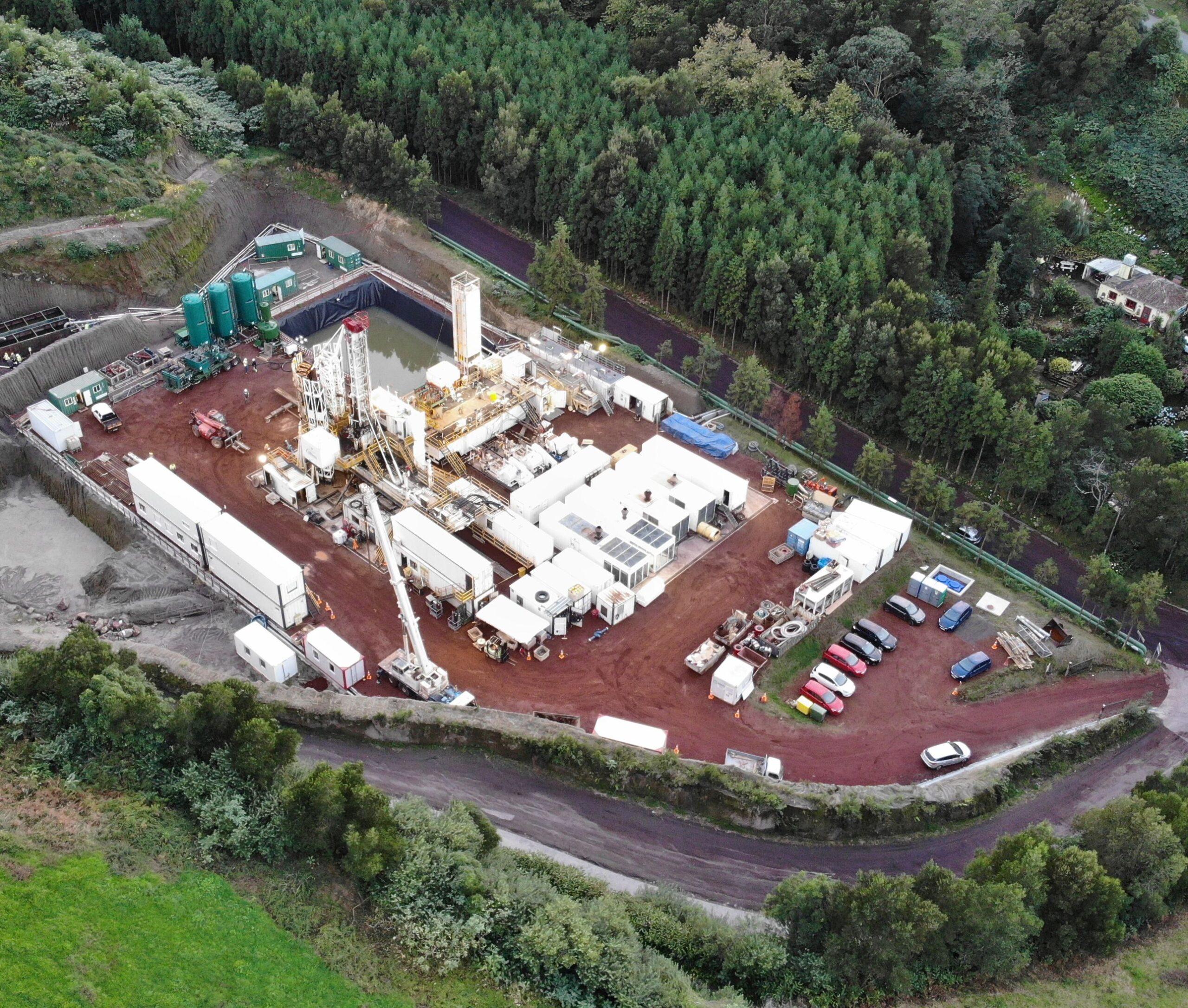 IDC Drillmec HH-220 rig on the island of Azores